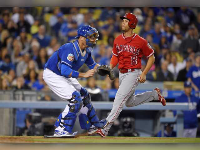 Santiago sharp for Angels in win over Dodgers