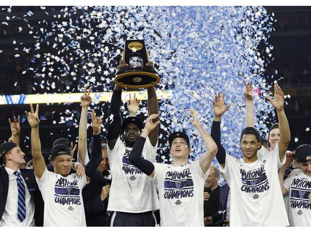 Villanova beat buzzer, UNC to claim NCAA title