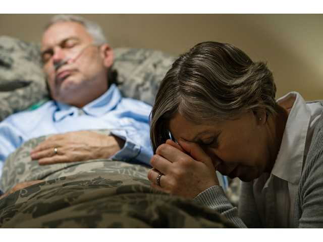 Do the dying live longer at home or in hospitals?