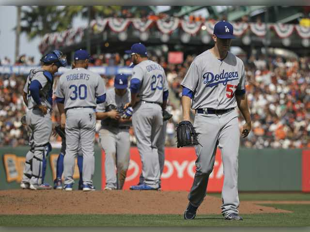 Dodgers lose first game of the season