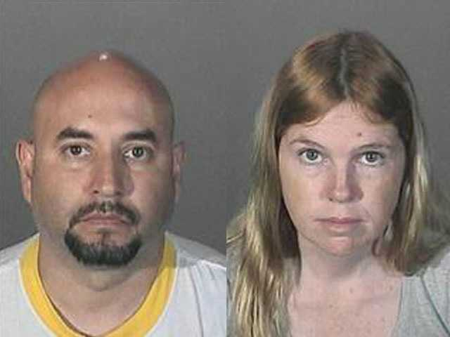 Photos of two sex crime suspects released Wednesday by the Los Angeles County Sheriff Department's Special Victims Bureau show Francisco Avendano (left) and Jacqueline Wadsworth.
