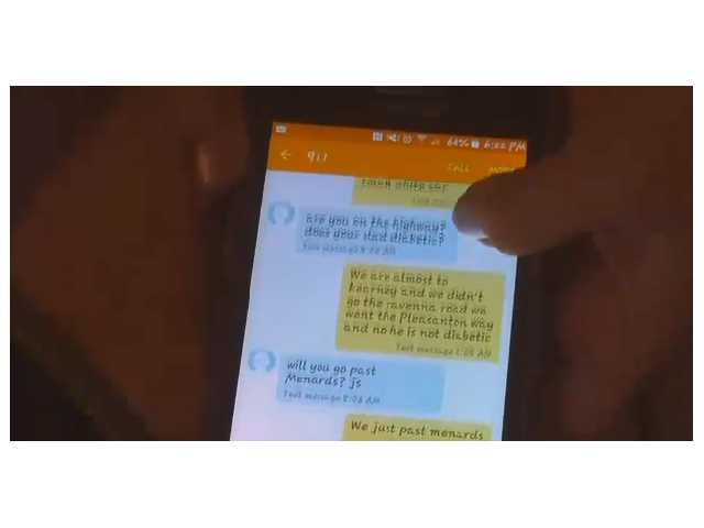 These kids just sent the best text of the year, and it helped save their lives