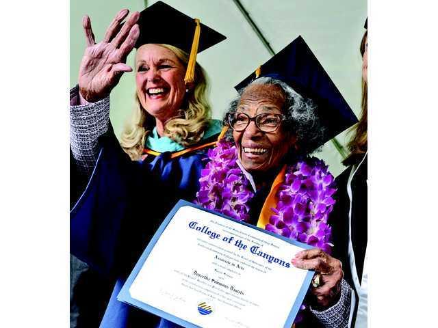 Recent COC graduate turns 100