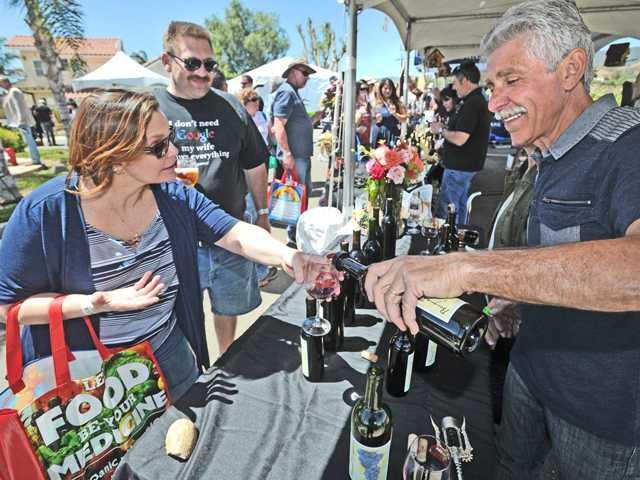 Sierra Pelona Wine Festival Supports SCV Senior Center