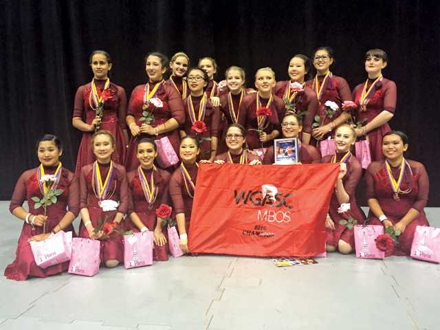 West Ranch Color Guard Wins Southern California Championship