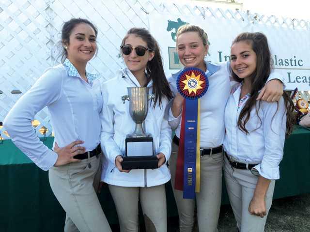 Sierra Vista JHS Equestrian Team Jumps Over Competition