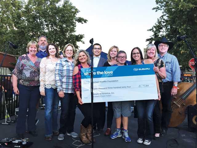 Michael Hoefflin Foundation Receives $7,000 Donation