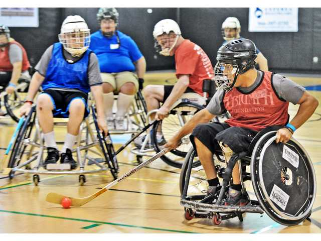 Wheelchair Sports Festival pushes limits