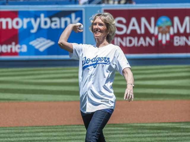 Santa Clarita Valley residents participate in Dodger Day