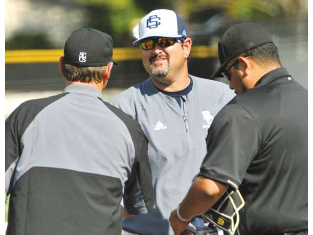 Saugus baseball tops SCCS in coaches' reunion