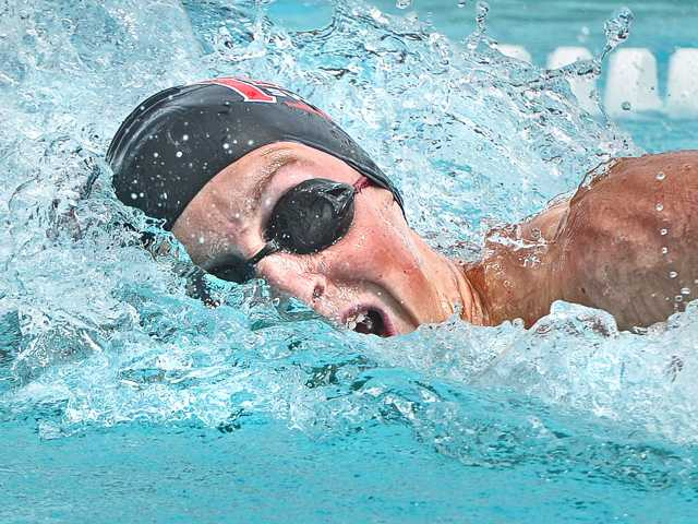 All-time records broken at Foothill swim prelims