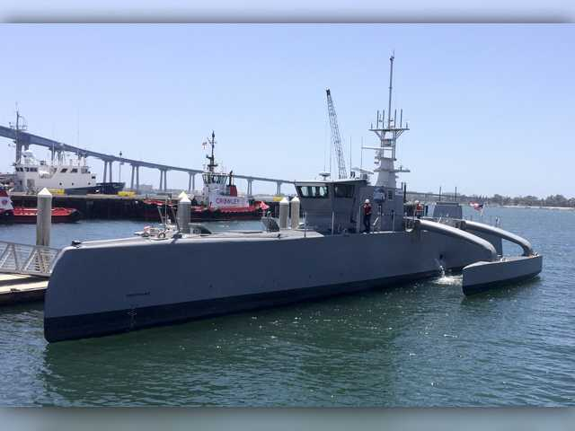 Move over drones, driverless cars, unmanned ship up next