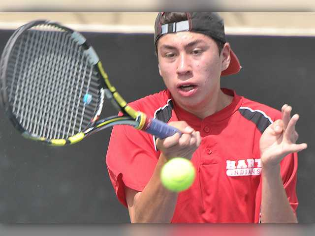 Semifinals set at Foothill boys tennis individual tourney
