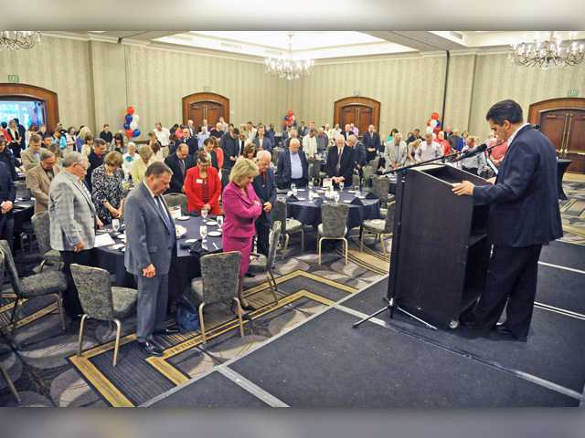 Mayors Prayer Breakfast held amid protests