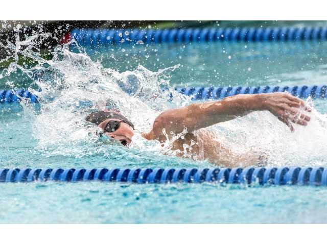Hart swim clinches Foothill League title sweep