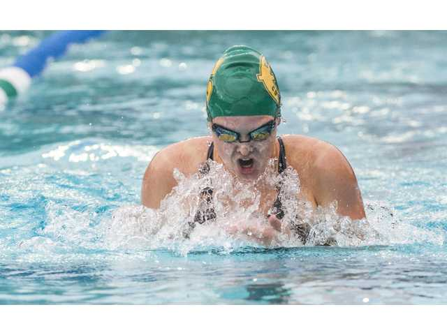 Hart swim clinches Foothill League titles