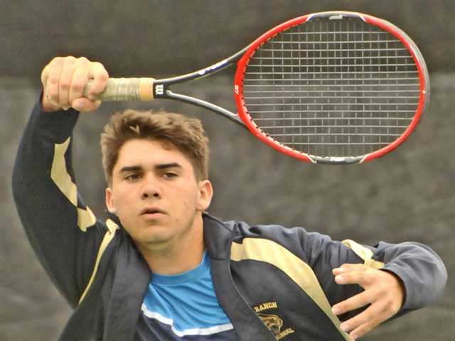 West Ranch shines at boys tennis individual tourney