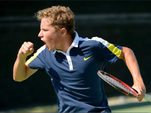 West Ranch boys tennis advances to 1st semifinal