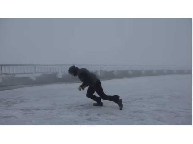 Have You Seen This? Man vs 100 mph wind