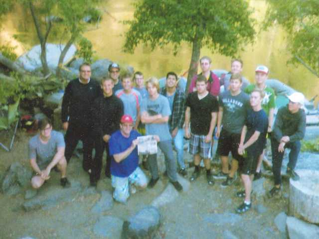 Castaic Troop's Raft Trip