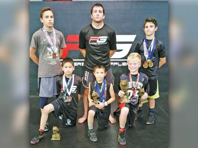 Peterson Grapplers Rocked Greco State
