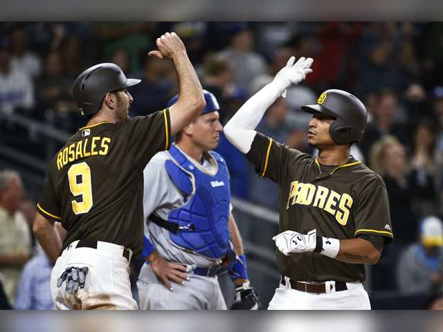 Padres walk-off on the Dodgers