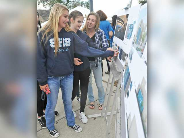 Saugus High breaks ground on performing arts center
