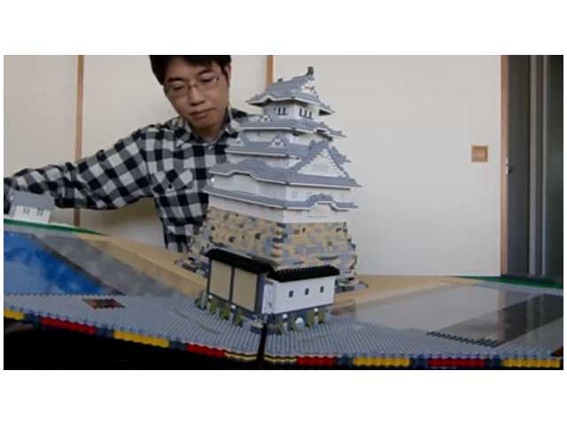 Have You Seen This? Pop-up book made with Legos