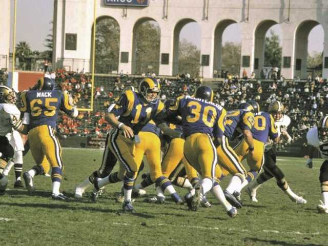 Rams Homecoming The Rams Belong To Los Angeles Again