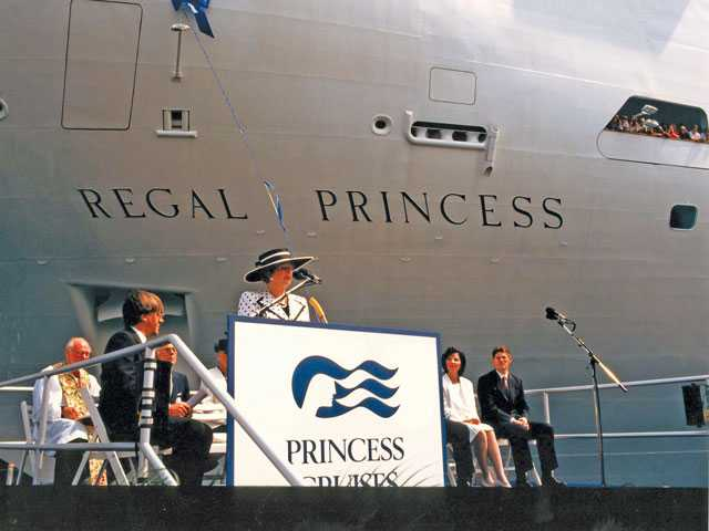 Iconic Women Serving as Godmothers to Princess Cruises' Ships