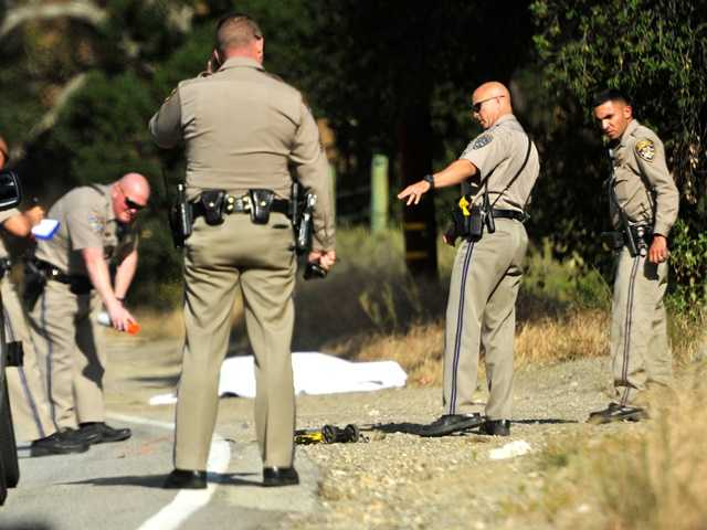 UPDATE: Bicyclist killed on Placerita Canyon Road