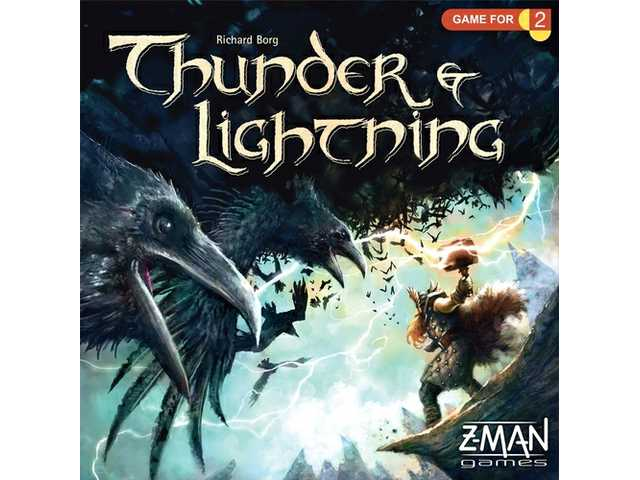 Game review: Thunder & Lightning is a two-player fantasy battle between Thor and Loki