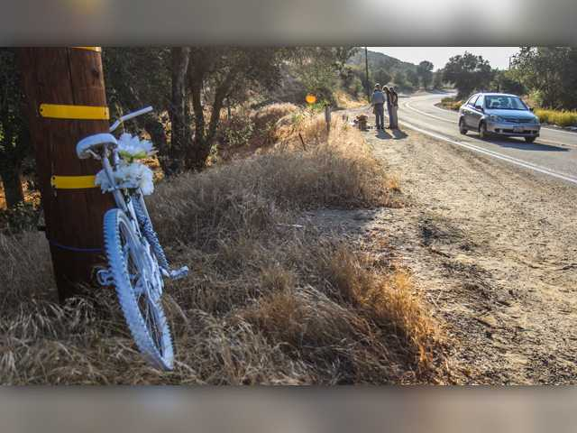 'Ghost Bike' placed in memory of teacher