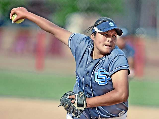 Foothill League softball's trio of power