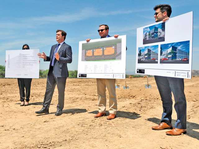 Ground Breaks on Valley's Master-Planned Industrial Project