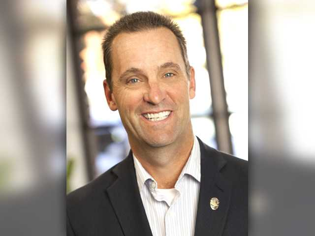 Republican incumbent Steve Knight received 49 percent of the vote in Tuesday's parimary election, according to unofficial final returns, and will face Democrat Bryan Caforio in November. Signal photo by Dan Watson.
