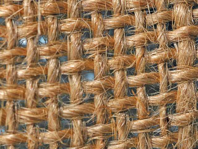 Burlap-type fabric made from hemp. iStock photo