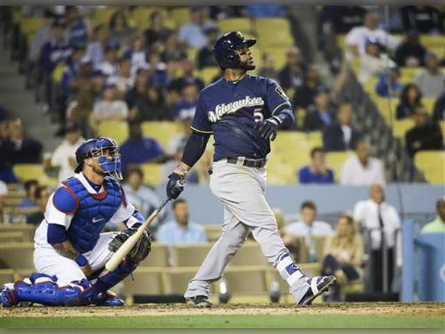 Late home run sinks Dodgers