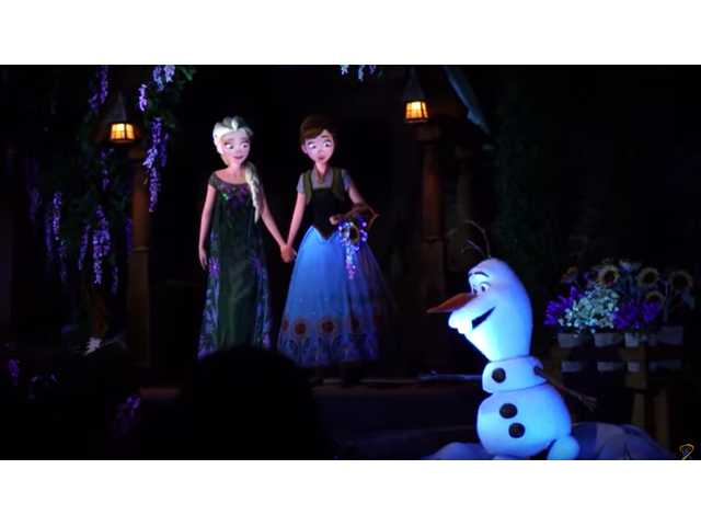 New 'Frozen' attraction opens in Disney World, five-hour long line reported
