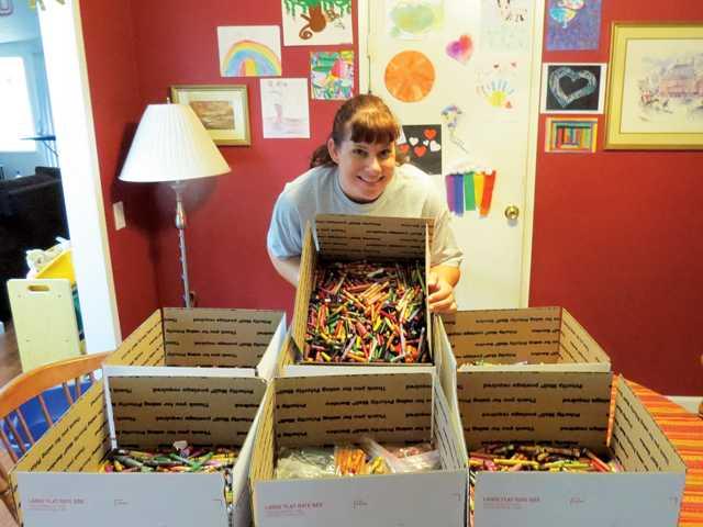 The Crayon Initiative ‐ Sulphur Springs Community School