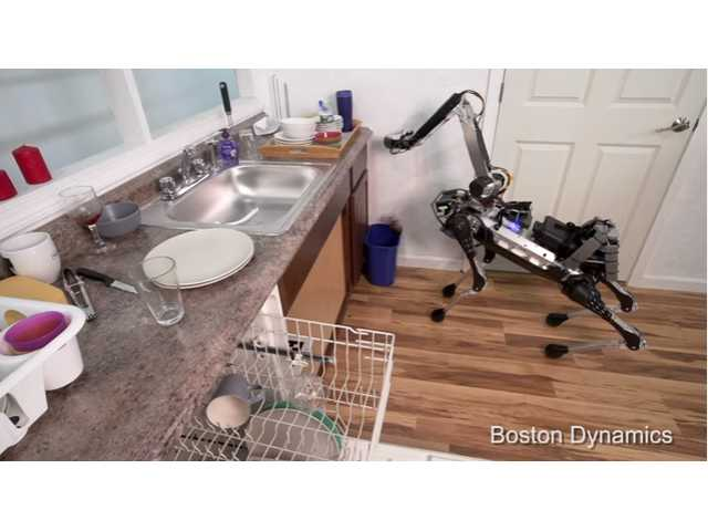 Boston Dynamics' newest robot can load your dishwasher