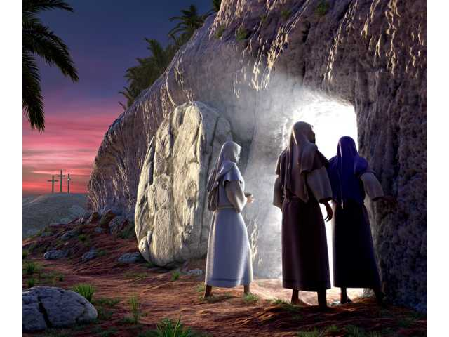 Restoration work has begun on Jesus' tomb
