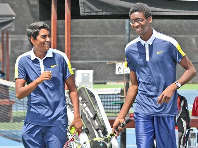 2016 All-SCV Boys Tennis Doubles Team