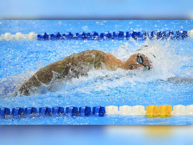 Ervin earns spot in final at swim trials
