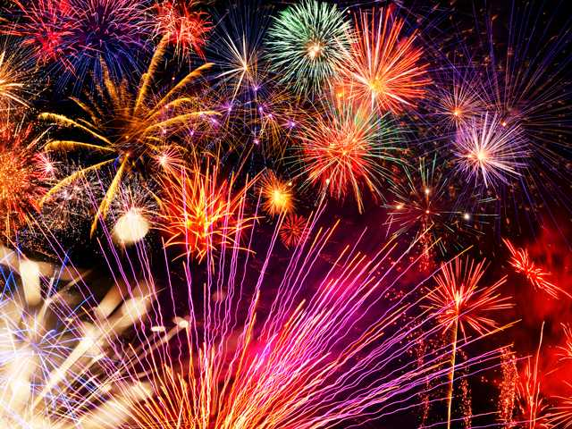 Best Fireworks shows in and around the SCV