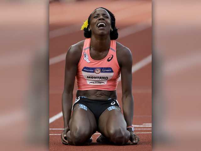 Alysia Montano meets heartbreak in 800-meter final