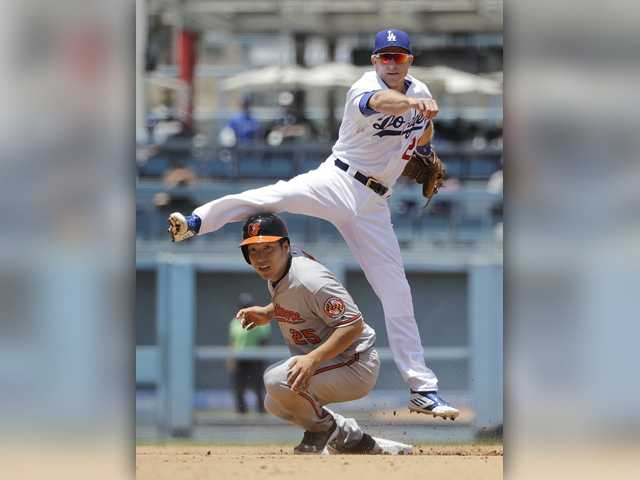 Dodgers 'K' 18 times in loss to Orioles