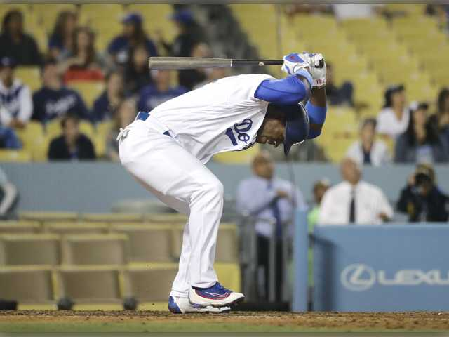 Pomeranz limits Dodgers to 2 hits in 6-0 loss to Padres