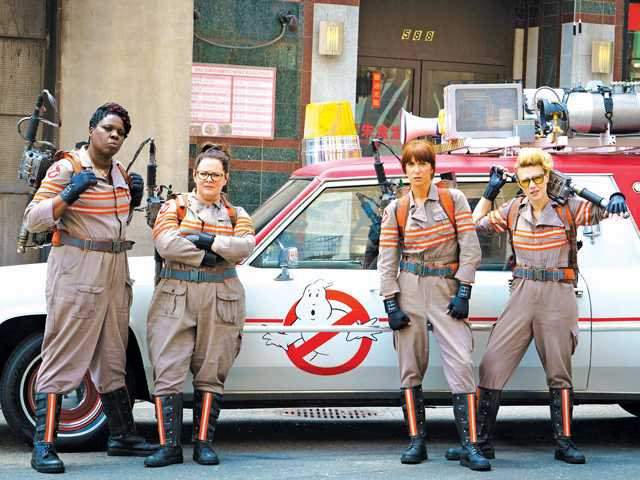 'Ghostbusters' is a ghostly, ghastly mess