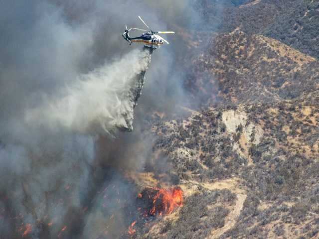 UPDATE: Firefighters working on 'mop up' and containment